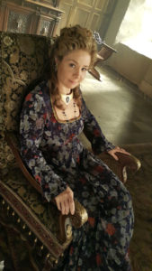 Megan Follows behind the scenes on Reign by Marilla Wex