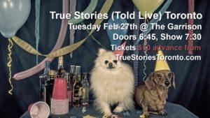 True Stories (Told Live) @ The Garrison