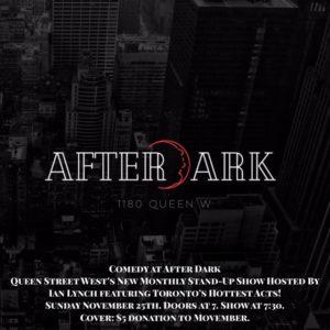 Comedy at After Dark @ After Dark