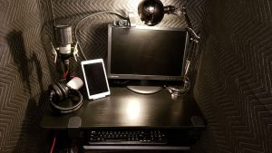Marilla Wex British Voice Artist Broadcast Quality Studio